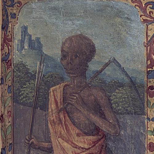 Livre d'heures à l'usage de Tours [détail] / vers 1470 / Bibliothèque Patrimoniale Pau / cote Ms123