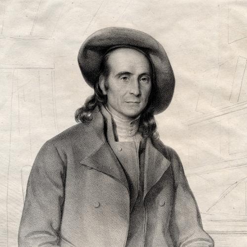 Pierrine Sacaze-Gaston : Botaniste de la Vallée d'Ossau [détail] / 1842 / Eugène Devéria (dessinateur) / Belliard (lithographe) / Bibliothèque Patrimoniale Pau / cote 250442