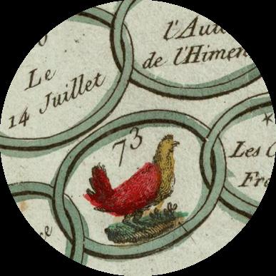 [Détail]  Les Delassemens du Pere Gerard ou la poule de Henri IV
