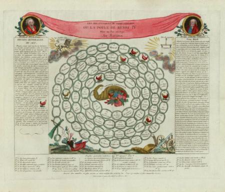Les Delassemens du Pere Gerard ou la poule de Henri IV : Mise au Pot en 1792 : Jeu National